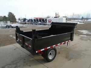ULTIMATE MINI DUMP 5 X 8 WITH HIGHER SIDES - COMES W/TARP KIT London Ontario image 3