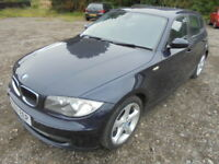 BMW 1 SERIES 116i SE (blue) 2007