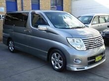 2006 Nissan Elgrand E51 Highway Star Grey 5 Speed Tiptronic Wagon Caringbah Sutherland Area Preview