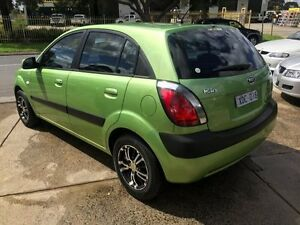 2008 Kia Rio JB LX Green 5 Speed Manual Hatchback Brooklyn Brimbank Area Preview
