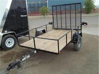 ALBERTA'S BEST PRICED 5X8 2K OPEN TRAILER WITH RAMP $1175.00