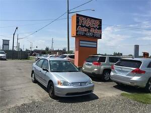 2002 Honda Civic DX*******ONLY 54 KMS*****AUTOMATIC****