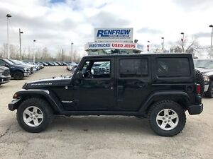 2012 Jeep Wrangler Unlimited Rubicon Leather/NAV