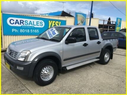 2004 Holden Rodeo RA LX Crew Cab Silver 5 Speed Manual Utility Kogarah Rockdale Area Preview