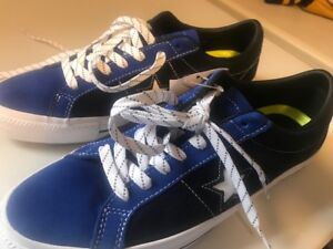 Converse One Star Suede Ox Obsidian Blue/Black NEW