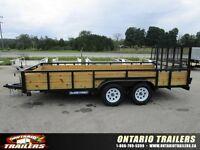2016 Sure-Trac 3 board highside 16 ft tandem