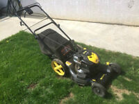 "Brute 22"" 6.75HP 190cc Walk Behind Lawnmower With Bag"