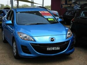 2011 Mazda 3 BL10F1 MY10 Neo Activematic Blue 5 Speed Sports Automatic Sedan Mount Druitt Blacktown Area Preview