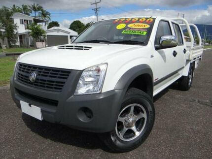 2008 Holden Rodeo RA MY08 LX (4x4) White 5 Speed Manual Crewcab Vincent Townsville City Preview