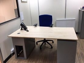 Room and Desk space available