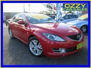 2008 Mazda 6 GH Classic Red 5 Speed Auto Activematic Sedan Minto Campbelltown Area Preview