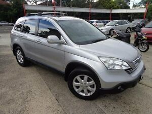 2008 Honda CR-V MY07 (4x4) Luxury Silver 5 Speed Automatic Wagon Sylvania Sutherland Area Preview