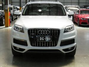 2013 Audi Q7 TDI Wagon 7st 5dr Tiptronic 8sp quattro 3.0DT [MY13] White Sports Automatic Wagon