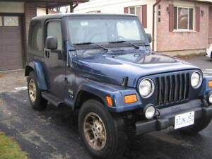 2004 Jeep TJ Rocky Mountain CERTIFIED & e-tested