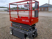 2013 SKYJACK 3219 Electric Scissor Lift *For Sale or Rent*