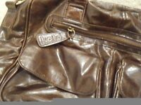 REDUCED PRICE - KOTO Brown Leatherette Bag
