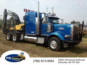 2006 Peterbilt 357 T/A Sleeper Winch Tractor