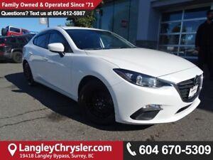 2015 Mazda Mazda3 GX *ACCIDENT FREE*ONE OWNER*LOCAL BC CAR*