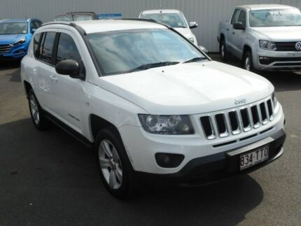2013 Jeep Compass MK MY14 Sport White 5 Speed Manual Wagon Maryborough Fraser Coast Preview