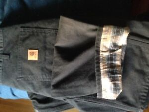 Carhartt lined work pants... NEW