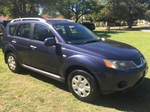 2008 MITSUBISHI OUTLANDER LS ZG 2.4LTR 4-CYL AWD AUTO WAGON ( GREAT ECONOMICAL FAMILY MOTORING! ) Bayswater Bayswater Area Preview