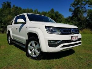 2017 Volkswagen Amarok 2H MY17 TDI550 4MOTION Perm Highline Candy White 8 Speed Automatic Utility Bungalow Cairns City Preview