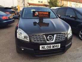 2008 Nissan Qashqai 2.0 dCi Tekna 4WD 5dr, FULL LEATHER INTERIOR, PANORAMIC SUNROOF, HEATES SEATS