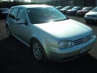 VOLKSWAGEN GOLF 1.8 GTI 5d 148 BHP (silver) 2001