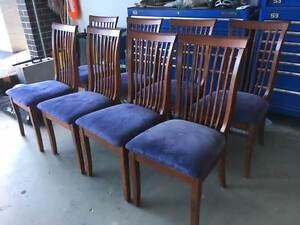 Solid Timber Dining Chairs Cobbitty Camden Area Preview