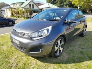 2013 Kia Rio UB MY13 SLS Grey 6 Speed Manual Hatchback Broadmeadow Newcastle Area Preview