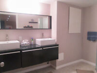 Room comes with modern bathroom & Kitchenette