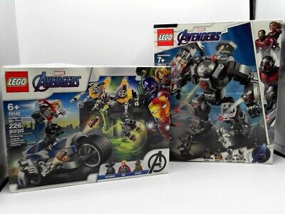 Lego Marvel Avengers Bundle: 76124 + 76142