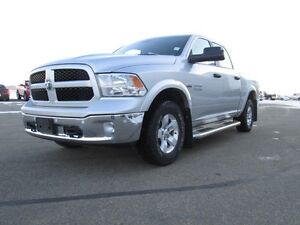 2015 Ram 1500 Outdoors man 4x4 with a full heavy duty trailer t