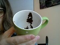 """Tea leaf reading and tarot that """"puts things into perspective"""""""