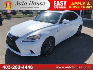 2015 LEXUS IS250 F SPORT AWD NAVIGATION BACKUP CAMERA