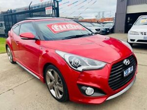 2013 Hyundai Veloster FS MY13 SR Turbo Boston Red 6 Speed Manual Coupe Brooklyn Brimbank Area Preview