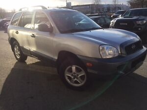 2003 Hyundai Santa Fe SUV, Crossover Safety and E=Tested