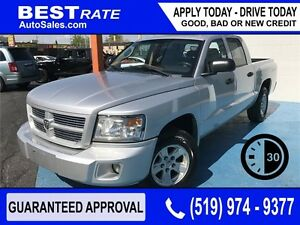 DODGE DAKOTA SXT - APPROVED IN 30 MINUTES! - ANY CREDIT LOANS