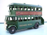 Lledo Promo Model D/D AEC Regent Bus Southern Vectis 50th Hornby Dublo 1938-1988 Isle of Wight