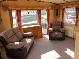 STATIC HOLIDAY HOME FOR SALE,NORTH WEST,OCEAN EDGE,STATIC CARAVAN,CHRISTMAS SALE!,BUY NOW PAY LATER!