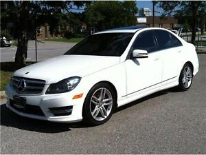 2013 MERCEDES BENZ C300 4MATIC |NAV|BLUETOOTH|58,000KM|WARRANTY