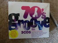70's Groove - Decca Dance 3 CD's