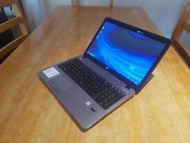 "HP ProBook 450 15.6"" LAPTOP, FAST CORE i7 2x 3.60GHz, 8GB, 750GB, DVD, WIFI, WEBCAM, BLUETOOTH, HDMI"