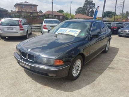 1999 BMW 528I E39 Black 5 Speed Automatic Sedan
