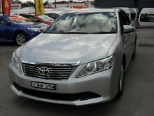 2014 Toyota Aurion GSV50R AT-X Silver 6 Speed Automatic Sedan Canada Bay Canada Bay Area Preview