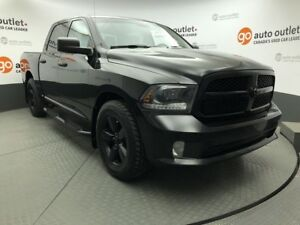 2015 Ram 1500 Black Ram 1500 Express Crew Cab 20 inch wheels