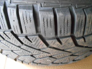 205 55 16 snow tires, with or without VW steel rims