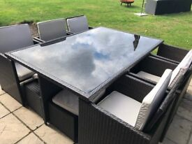 Rattan Cube - 10 Seater Patio Set