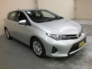 2013 Toyota Corolla ZRE182R Ascent Silver 7 Speed CVT Auto Sequential Hatchback Gateshead Lake Macquarie Area Preview