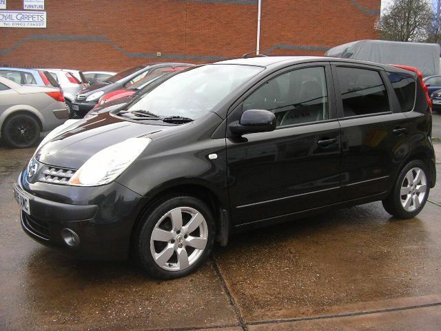 nissan note 1 6 sve 5dr black 2006 in wolverhampton west midlands gumtree. Black Bedroom Furniture Sets. Home Design Ideas